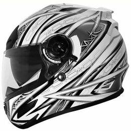Мотоэкипировка - Шлем THH TS - 44#3 WHT/SIL (M), 0