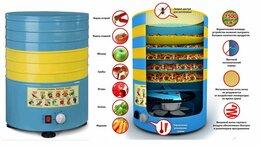 Сушилки для овощей, фруктов, грибов - Электросушилка Элвин СУ-1 800Вт, 6 мет.поддонов, 0