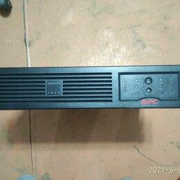 Источники бесперебойного питания, сетевые фильтры -     ИБП APC Smart-UPS SUA1000RMI2U, 0