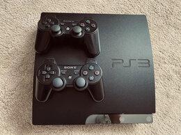 Игровые приставки - Sony Playstation 3 Slim на 320gb,Прошита +2…, 0