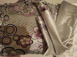 Постельное белье - Новый шелковый комплект: простыня и пододеяльник, 0