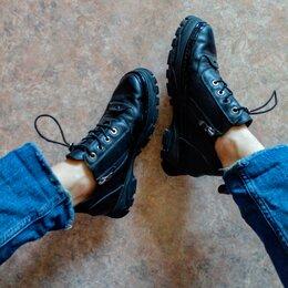 Ботинки - Полуботинки Renzoni, натуральная кожа, 0