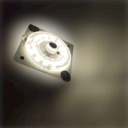 Рекламные конструкции и материалы - Модуль св/д с драйвером (12W-6500К) 80x80мм на магнитах, 0