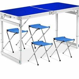 Походная мебель - Стол складной туристический со стульями, 0