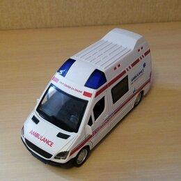Машинки и техника - Машинка скорой помощи и подстанция., 0