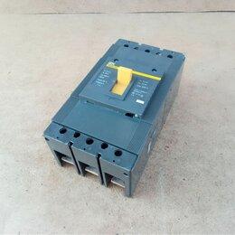 Защитная автоматика - Выключатель автоматический трехполюсный IEK ВА88-37 315А, 0