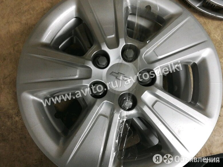 Колпаки Шевроле R 16 по цене 1500₽ - Шины, диски и комплектующие, фото 0