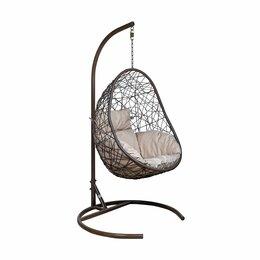 Подвесные кресла - Подвесное кресло LESET САОНА коричневое, 0