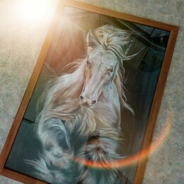 Картины, постеры, гобелены, панно - Дикая лошадь, 0