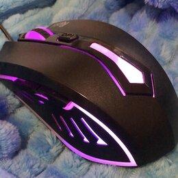 Мыши - Игровая мышь новая с подсветкой и боковыми кнопкам, 0