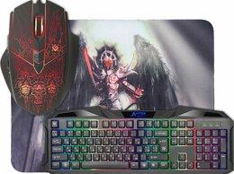 Комплекты клавиатур и мышей - Игровой набор Defender Anger-019, 0