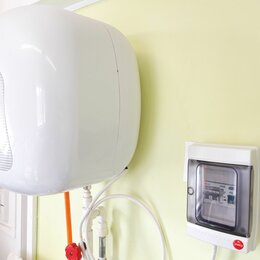 Водонагреватели - Щиток защитный на электрический водонагреватель, бойлер , 0