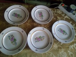 Тарелки - Набор тарелок 5 шт, 0