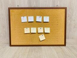 Доски - Доска пробковая, с деревянной рамкой 5 шт, 0