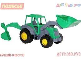 Машинки и техника - Алтай, трактор-экскаватор,, 0