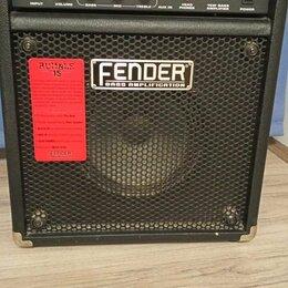 Гитарное усиление - Басовый Комби Fender Rumble 15 Made In Korea. Бесплатная Доставка, 0