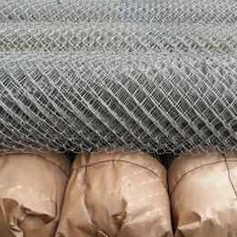 Заборчики, сетки и бордюрные ленты - Сетка рабица оцинкованная Новосиль, 0