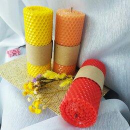 Декоративные свечи - Свечи ручной работы с маслом цитрусовых, 0