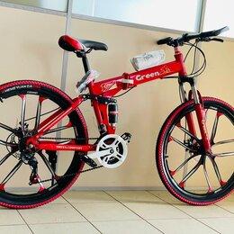 Велосипеды - Велосипед горный складной на литых д(шоурум), 0