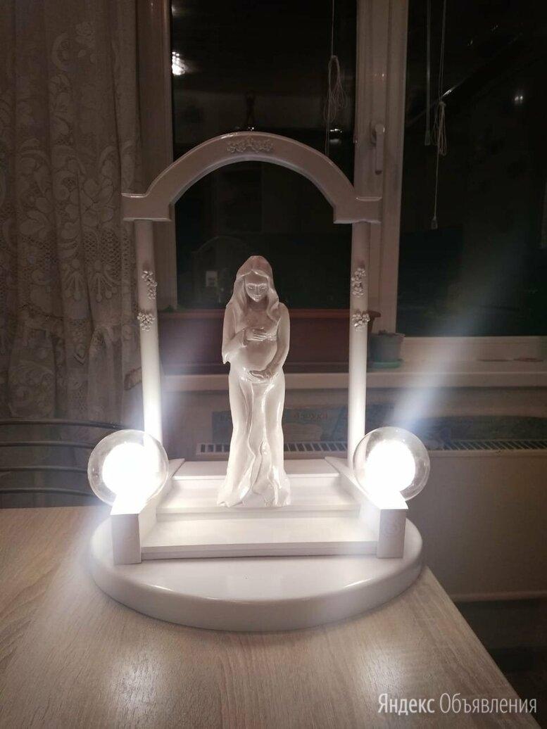 Интерьерная скульптура светильник ручная работа по цене 12000₽ - Ночники и декоративные светильники, фото 0