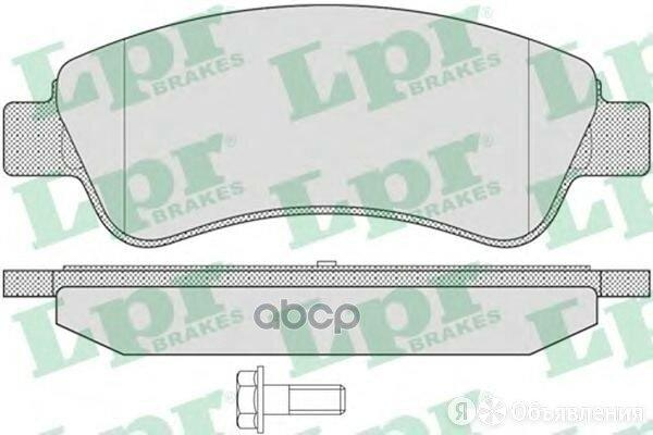 Колодки Тормозные Citroen C4 03-/Peugeot 307/Partner 1.4/1.6 -Esp Передние Lp... по цене 1250₽ - Тормозная система , фото 0