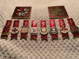 Жетоны, медали и значки - Коллекция значков , 0