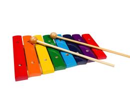 Оборудование для звукозаписывающих студий - FLIGHT FX-8С Ксилофон детский, 8 нот, палочки в…, 0