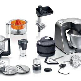 Кухонные комбайны и измельчители - Кухонный комбайн Bosch MUM59M55 черный, 0