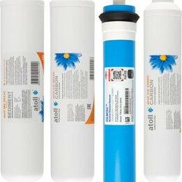 Чернила, тонеры, фотобарабаны - Набор картриджей ATOLL №107 (для А-450 Compact) [НС-1134149], 0