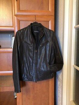 Куртки - 44-46 размер 165 рост Натуральная коричневая кожа, 0