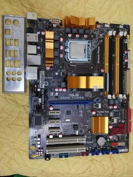 Материнские платы - Asus P5Q Turbo+C2D E8500, 0