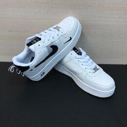 Кроссовки и кеды - Кроссовки Nike Air Force 1 белые (A840), 0