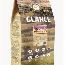 Лакомства  - Glance, корм сухой для взрослых собак всех пород с ягненком и рисом,20 кг, 0
