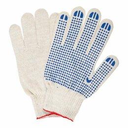 Перчатки и варежки - Перчатки хлопчатобумажные, КОМПЛЕКТ 5 пар, 10…, 0