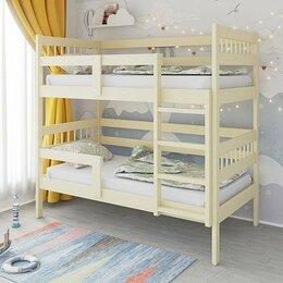 Кроватки - Кровать двухъярусная массив, 0