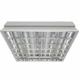 Встраиваемые светильники - Светильник ЛВО 4х18Вт G13 IP20 CSVT ЦБ000000728, 0