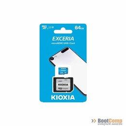 Карты памяти - Память micro Secure Digital Card 64Gb class10 KIOXIA (Toshiba) [LMEX1L064GG2], 0