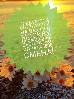 Разнорабочие - Работа вахтой в Москве , 0