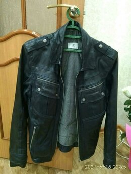 Куртки - Кожанная куртка турция, 0