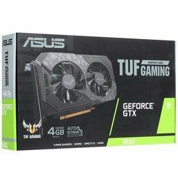 Видеокарты - Видеокарта ASUS GTX 1650 TUF-GTX1650-4GD6-P-GAMING, 0