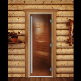 Двери - Doorwood Дверь DoorWood Престиж (бронза матовая) 190х70 (правая), 0