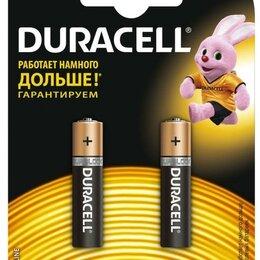 Батарейки - БАТАРЕЙКА DURACELL ORIGINAL ААА 1.5V LR03 2ШТ, 0