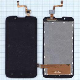 Запчасти и аксессуары для планшетов - Модуль (матрица + тачскрин) для Lenovo A328 черный, 0