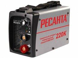 Сварочные аппараты - Сварочный аппарат РЕСАНТА САИ-220К, 0