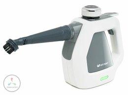 Пароочистители - Пароочиститель Kitfort КТ-918-2 серый, 0