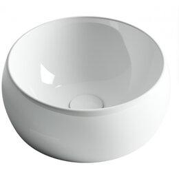 Раковины, пьедесталы - Круглая накладная умывальник-чаша Ceramica Nova Element, 0