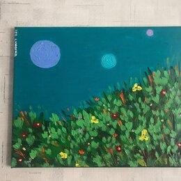 Картины, постеры, гобелены, панно - Картина акриловыми красками , 0