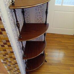 Стеллажи и этажерки - Этажерка Угловая, 0