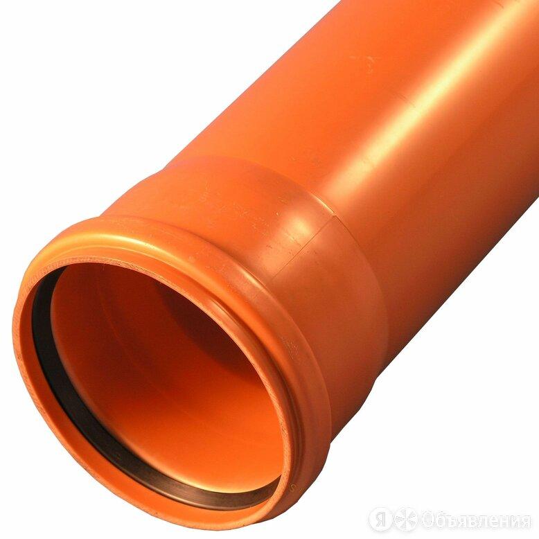 ПВХ Труба канализационная 160х1000мм оранжевая Полипластик по цене 550₽ - Канализационные трубы и фитинги, фото 0