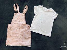 Комплекты и форма - Комбез/юбка H&M и футболка AcoolaKids 122 размер, 0